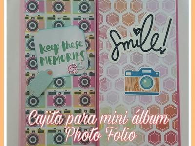 Tutorial: Cajita para Mini Foto Folio