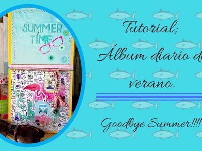 Tutorial: Diario de verano, goodbye summer!!