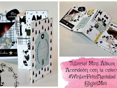 Tutorial mini álbum acordeón por Bienve Prieto para GigietMoi