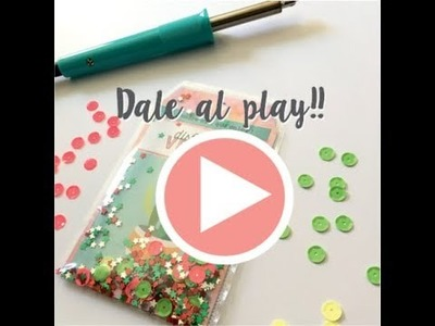 Tutorial scrapbooking: Shaker tag con la Fuse tool de we are memory keepers