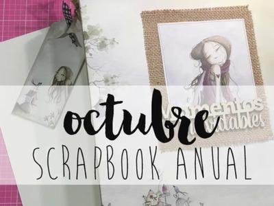 Un año mágico SCRAPBOOK ANUAL Octubre