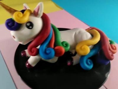 Unicornio Arcoiris DIY. Rainbow Unicorn DIY  NayCrafts