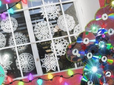 2 ideas para Decorar tu ventana en Navidad