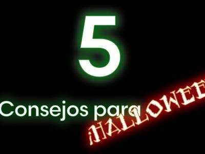 5 Consejos Para Este Halloween o Día de Muertos