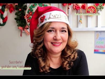 ADORNOS DE NAVIDAD*20 lindos y fáciles proyectos *Embroidered Christmas decorations
