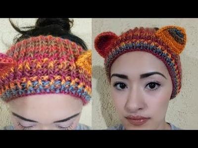 Banda para la cabeza a Crochet