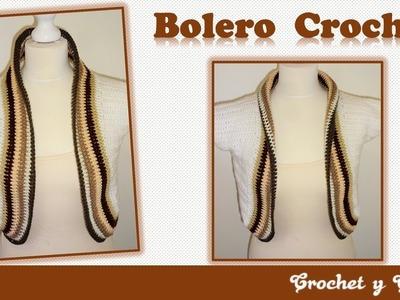 Bolero crochet para mujeres