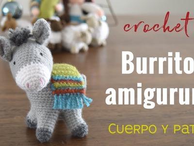 Burrito sabanero amigurumi (crochet) - Parte 2. Tejiendo Perú