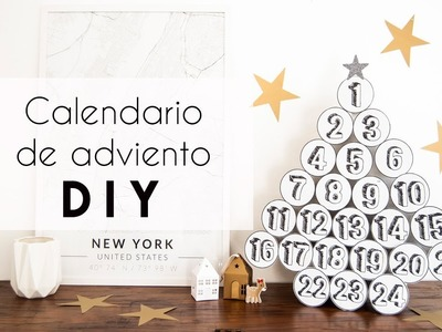 CALENDARIO DE ADVIENTO CON VASOS DE STARBUCKS DIY. MAKE IT! DIANKITA