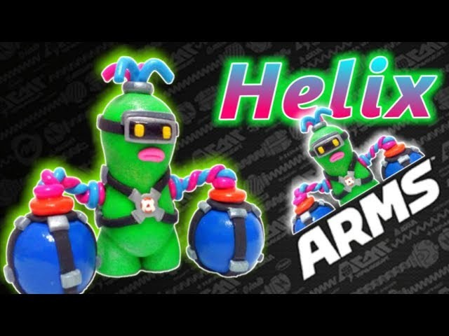 ???? Como hacer a HELIX de ARMS con Arcilla Polimerica   Fimo   Polymer Clay