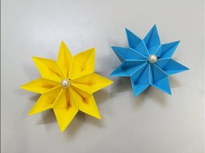 Cómo hacer Flores de papel - paper flowers - Paper crafts - Flores