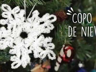COMO HACER UN COPO DE NIEVE A CROCHET ❄️ | Danii's Ways ♡
