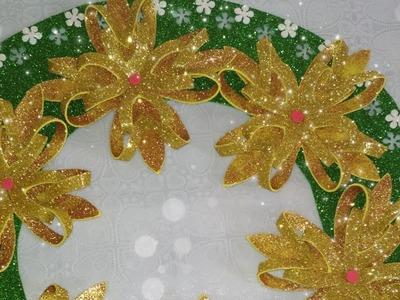 ????????CORONA de Navidad con una técnica DIFERENTE????Tendencia 2018⭐La más fácil y bella ????