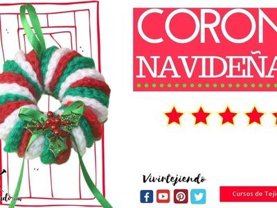 Corona Navideña a Crochet | Adornos y Manuales de Navidad