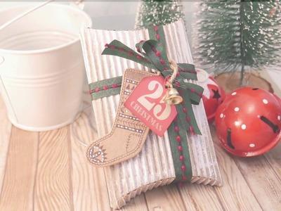 DIY Christmas favour box. BIG SHOT TUTORIAL