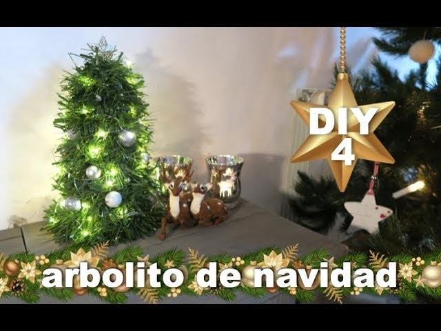 DIY COMO HACER ARBOLITO DE NAVIDAD | DECORACION NAVIDEÑA
