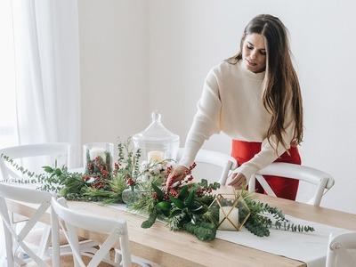 DIY decoracion de Navidad