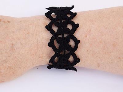 DIY Gargantilla y brazalete  a crochet muy fácil y rápida MAJOVEL