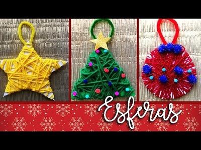 DIY | Haz esferas navideñas con tus peques!
