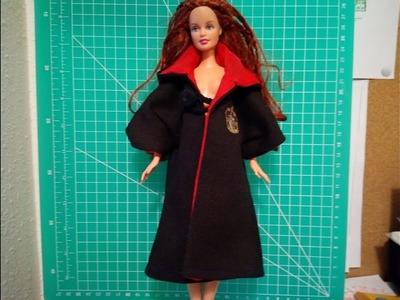 DIY- Haz una túnica de Gryffindor para tu Barbie