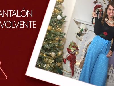 DIY Pantalón Envolvente  wraparound pants- Omaira tv