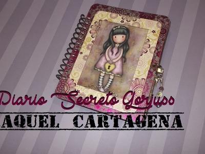 DIY TUTORIAL Diario Secreto Gorjuss con candado y llave SCRAPBOOKING