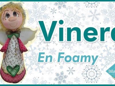 DIY Vinera en Foamy   Colaboración Novedades con Katherine   Victoria RodAcu