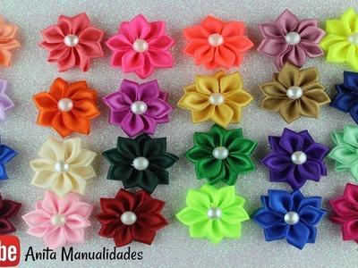 Flor Margarita Mini Paso a Paso   Anita Manualidades
