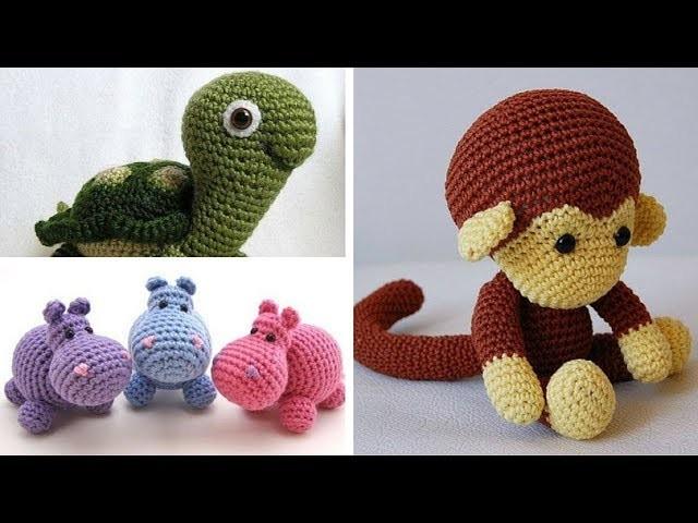 Galería: Peluches para niños a Crochet