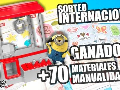 GANADOR SORTEO INTERNACIONAL HAUL MATERIALES MANUALIDADES|Manualidades|DIY
