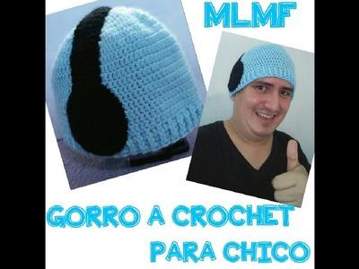 GORRO CON AUDIFONOS A CROCHET - Manualidades La Manita Felíz