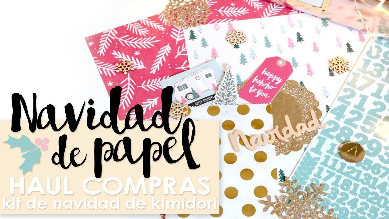 Haul Navideño: Kit de Navidad de Kimidori