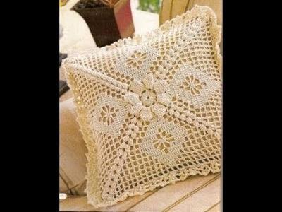 Hermosos cojines en crochet