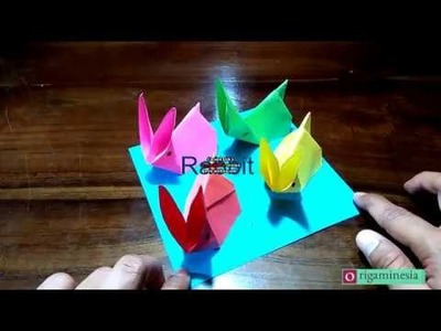 How to make a Rabbit?  Animals Origami #####