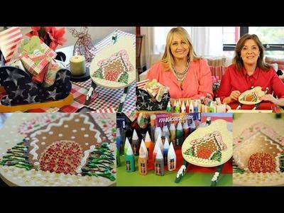 Ideas Navideñas - Pintar Madera - Trineos para navidad -