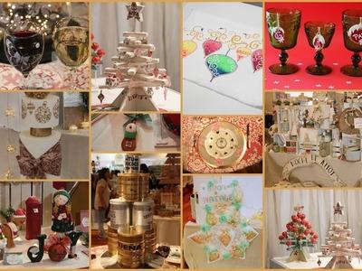 ManosalaObraTv Programa 110 - Expo Arte Navideña 2017 - Adornos para navidad - Arboles de Navidad