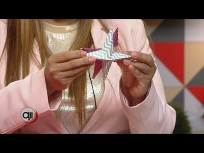 Manualidades: Estrellas hechas de papel para tu arbolito de navidad