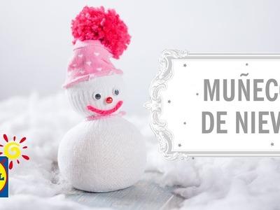 Muñeco de Nieve -  Manualidades DIY Navidad