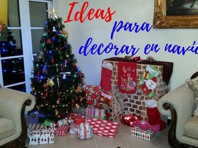 Nuestra decoracion de navidad y Algunas Ideas DIY