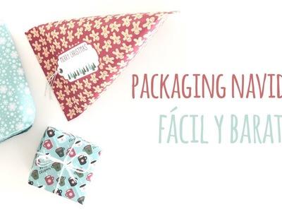Packaging Navideño fácil y económico - TUTORIAL DIY