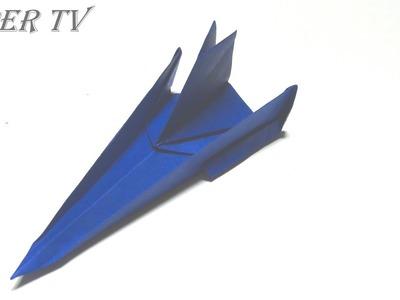 [Paper TV] Origami airplane(jet plane) 제트기 종이접기 折り紙 ジェット機 como hacer Aeroplano de papel