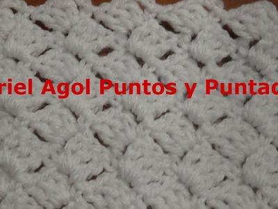 Puntada a crochet (Petatillo) muy fácil