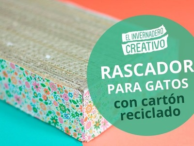 Rascador de cartón DIY para gatos - DIY Cardboard Scraper for Cats