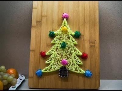 String art manualidades para navidad
