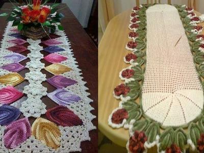 Tapetes para Mesas -- Tejidos a Crochet