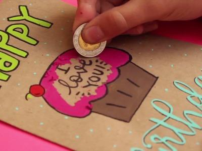 Tarjeta RASPA Y GANA! DIY! ✄ Barbs Arenas Art!