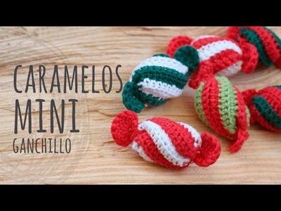 Tutorial Mini Caramelo Navidad Ganchillo | Crochet