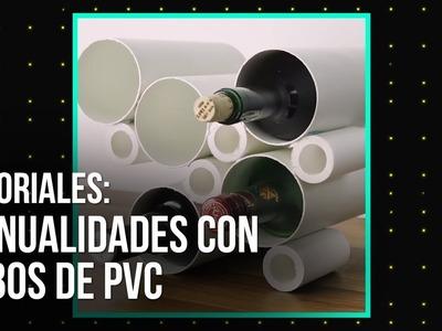Tutoriales: Trucos para zapatos y manualidades con tubos de PVC