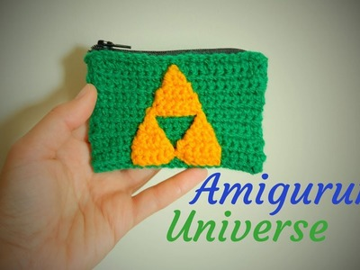 ZELDA Monedero Amigurumi Tutorial. DIY Zelda Purse English Subs pattern.