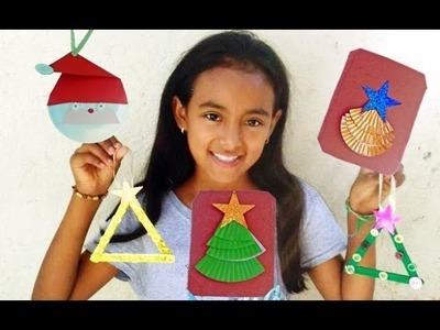 3 Manualidades navideñas para niños. Les presento a Amairany
